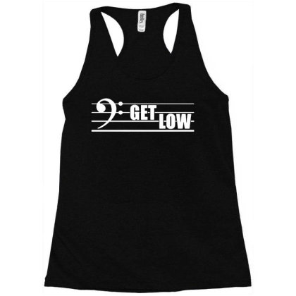 Bass Clef Symbol Racerback Tank Designed By Wowotees