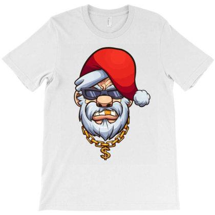 Santa Thug Life T-shirt Designed By Tiococacola