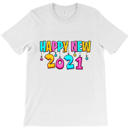 Happy New 2021 T-shirt Designed By Tiococacola