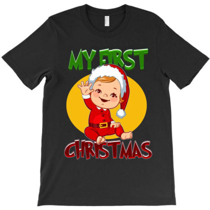My First Christmas T-shirt Designed By Tiococacola