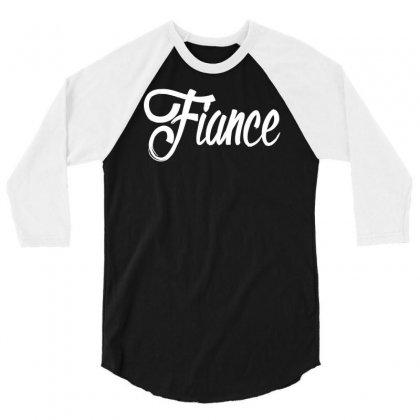Fiance 3/4 Sleeve Shirt Designed By Henz Art