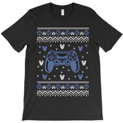 Gamer Knit T-shirt Designed By Rardesign
