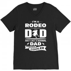 I'M A RODEO DAD... V-Neck Tee | Artistshot