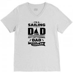 I'M A SAILING DAD... V-Neck Tee | Artistshot