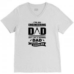 I'M A ENGINEERING DAD... V-Neck Tee | Artistshot