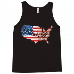 bless it usa map 4th of jully flag Tank Top | Artistshot