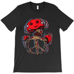 Trippy Magic Mushrooms T-Shirt | Artistshot