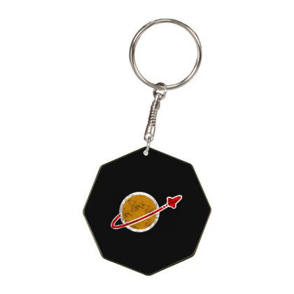 Lego Classic Space Vintage Octagon Keychain Designed By Woko Art