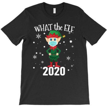 Funny Christmas 2020 Elf T-shirt Designed By Mrt90