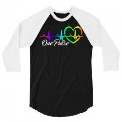 One Pulse Orlando Strong 3/4 Sleeve Shirt   Artistshot