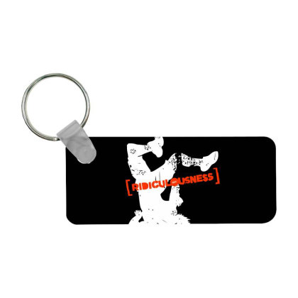 Ridiculousness Frp Rectangle Keychain Designed By Gooseiant