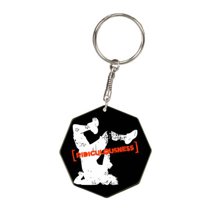 Ridiculousness Octagon Keychain Designed By Gooseiant