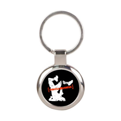Ridiculousness Round Keychain Designed By Gooseiant