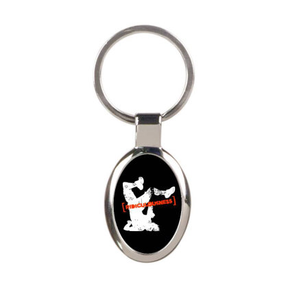 Ridiculousness Oval Keychain Designed By Gooseiant