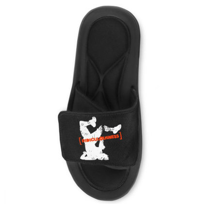 Ridiculousness Slide Sandal Designed By Gooseiant