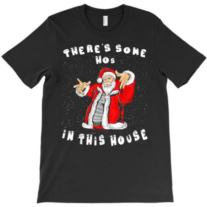 Funny Christmas Santa Claus T-shirt Designed By Mrt90