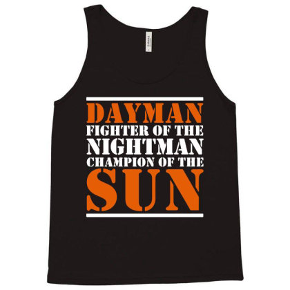 Dayman Fighter Of Nightman Tank Top Designed By Tht