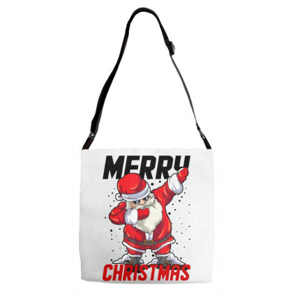 Dabbing Santa Claus Adjustable Strap Totes Designed By Tht