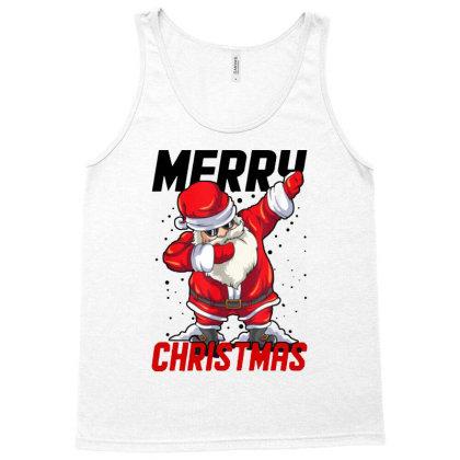 Dabbing Santa Claus Tank Top Designed By Tht