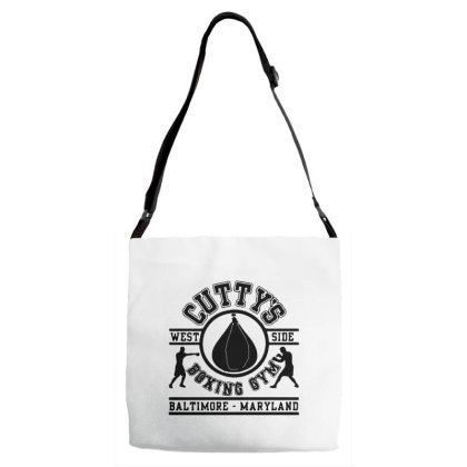 Cutty's Boxing Gym Adjustable Strap Totes Designed By Tht