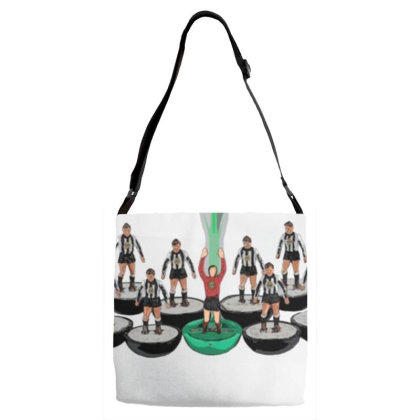 Subbuteo Inspired Adjustable Strap Totes Designed By Reli Juali