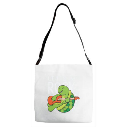 Turtle Adjustable Strap Totes Designed By Dulart