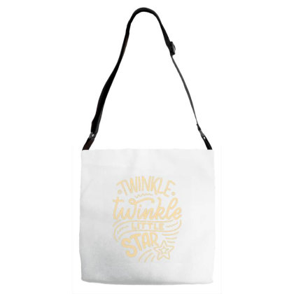 Twinkle Little Star 1 Adjustable Strap Totes Designed By Dulart