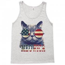 4th of july tshirt cat meowica Tank Top | Artistshot