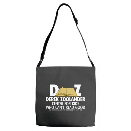 Derek Zoolander Adjustable Strap Totes Designed By Kimochi