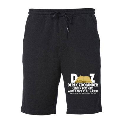 Derek Zoolander Fleece Short Designed By Kimochi