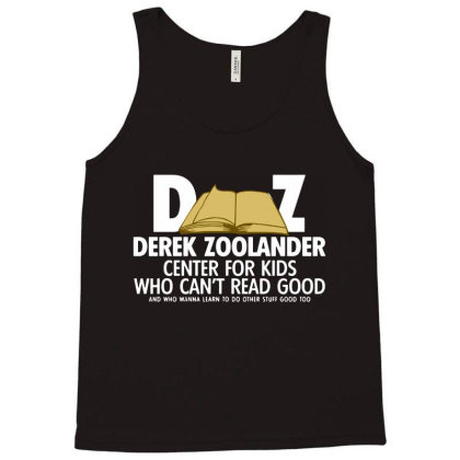 Derek Zoolander Tank Top Designed By Kimochi