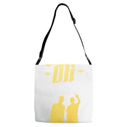 Rap Band Bigflo & Oli Adjustable Strap Totes Designed By Reli Juali