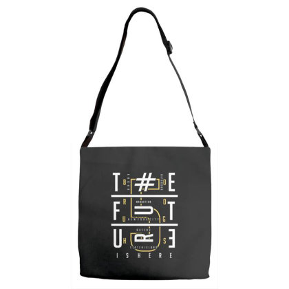 Typography Adjustable Strap Totes Designed By Dulart