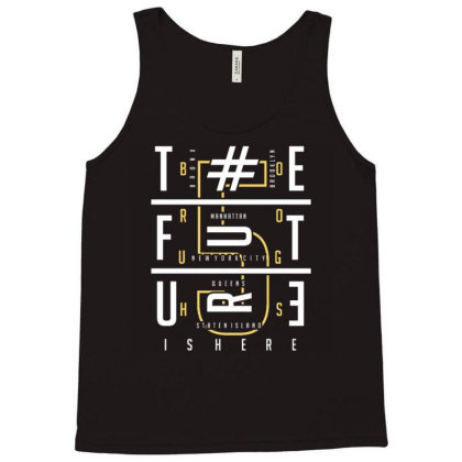 Typography Tank Top Designed By Dulart