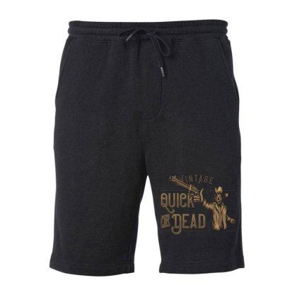 Uick Or Dead Label Typeface Fleece Short Designed By Dulart