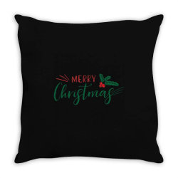 Merry Christmas Fruit Throw Pillow Designed By Samlombardie