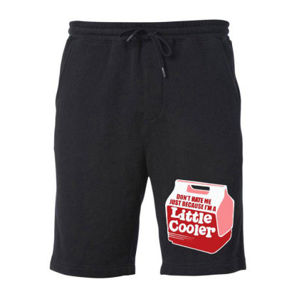 Don't Hate Me Just Because I'm A Little Cooler Fleece Short Designed By Kimochi