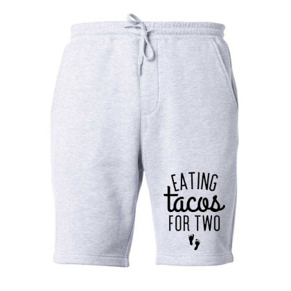 Eating Tacos For Two Fleece Short Designed By Kimochi