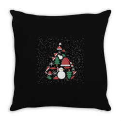 Christmas Background Throw Pillow Designed By Lorenzoichester