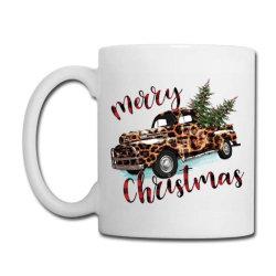 Leopard Printed Car Merry Christmas Coffee Mug Designed By Lorenzoichester