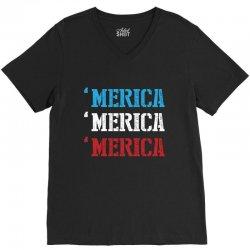 America V-Neck Tee | Artistshot