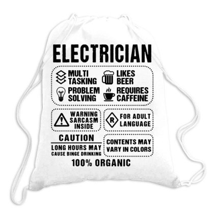 Electrician Drawstring Bags Designed By Kimochi