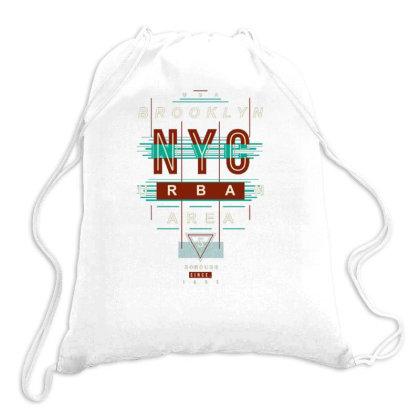 Usa Urban Area Drawstring Bags Designed By Dulart