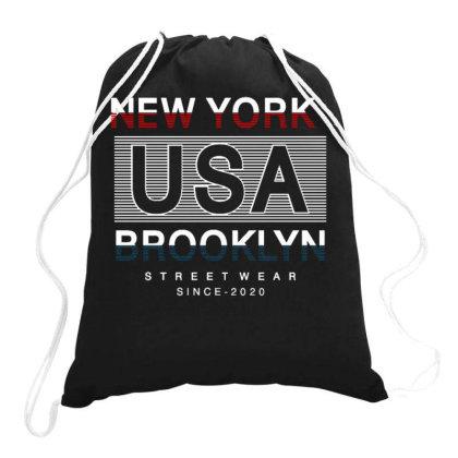 Usa 2 Drawstring Bags Designed By Dulart