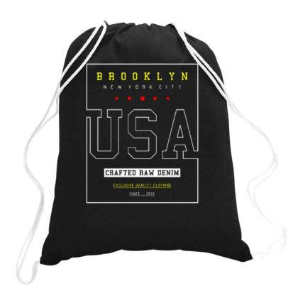 Usa  3 Drawstring Bags Designed By Dulart