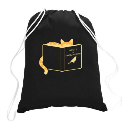To Kill A Mockingbird Drawstring Bags Designed By Ruarthur