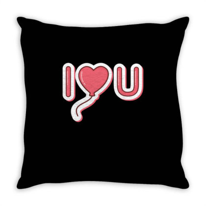 Valentine's Day 1 Throw Pillow Designed By Dulart