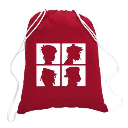 Gorillaz Drawstring Bags Designed By Yahyafasya