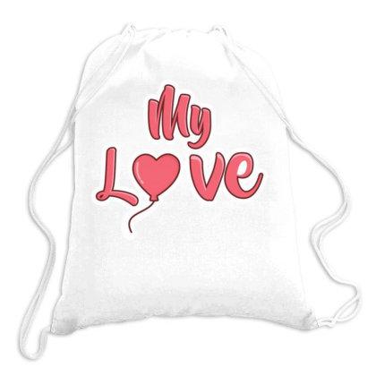 Valentine Days Drawstring Bags Designed By Dulart