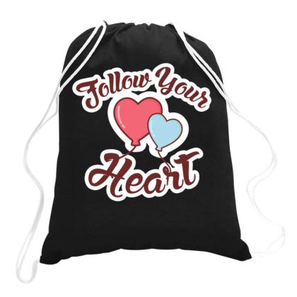 Valentine's Day 2 Drawstring Bags Designed By Dulart